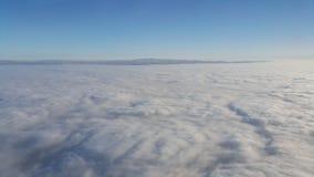 Ουρανός από το αεροπλάνο Στοκ Φωτογραφία