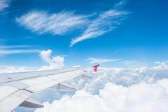 Ουρανός από το αεροπλάνο Στοκ Εικόνες