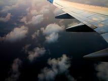 Ουρανός από το αεροπλάνο 4 Στοκ Φωτογραφία