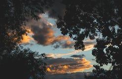 Ουρανός βαμβακιού Στοκ φωτογραφία με δικαίωμα ελεύθερης χρήσης