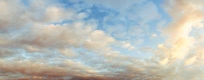 Ουρανός βανίλιας XXL Στοκ εικόνα με δικαίωμα ελεύθερης χρήσης
