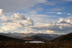 ουρανός βουνών Στοκ Φωτογραφία
