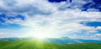 ουρανός βουνών Στοκ εικόνα με δικαίωμα ελεύθερης χρήσης