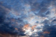 ουρανός βραδιού Στοκ Φωτογραφίες