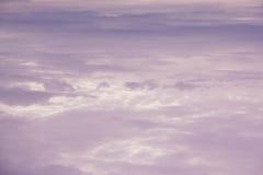 Ουρανός βραδιού δραματικός με το σύννεφο Στοκ Εικόνα