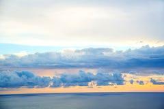 Ουρανός βραδιού Στοκ εικόνες με δικαίωμα ελεύθερης χρήσης