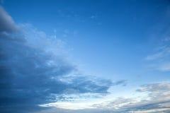 Ουρανός βραδιού Στοκ φωτογραφίες με δικαίωμα ελεύθερης χρήσης