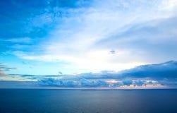 Ουρανός βραδιού Στοκ Εικόνα