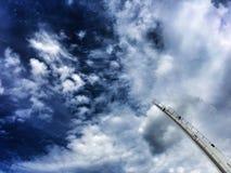 ουρανός γεφυρών Στοκ Εικόνες