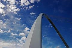 ουρανός γεφυρών Στοκ φωτογραφίες με δικαίωμα ελεύθερης χρήσης