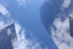 Ουρανός δεκαπέντε χάλυβα Στοκ φωτογραφία με δικαίωμα ελεύθερης χρήσης