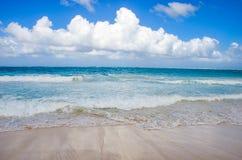 Ουρανός επάνω από την παραλία στη Δομινικανή Δημοκρατία Στοκ φωτογραφία με δικαίωμα ελεύθερης χρήσης