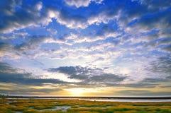 ουρανός ζωηρός Στοκ φωτογραφία με δικαίωμα ελεύθερης χρήσης