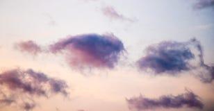 Ουρανός, ηλιοβασίλεμα, σύννεφο Στοκ Εικόνες
