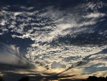 Ουρανός ηλιοβασιλέματος στοκ φωτογραφία με δικαίωμα ελεύθερης χρήσης