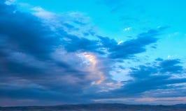Ουρανός ηλιοβασιλέματος στοκ εικόνες με δικαίωμα ελεύθερης χρήσης