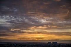 Ουρανός ηλιοβασιλέματος Στοκ Φωτογραφία