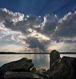 ουρανός ηλιόλουστος Στοκ εικόνα με δικαίωμα ελεύθερης χρήσης