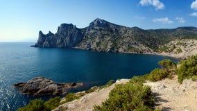 ουρανός θάλασσας βουνών Στοκ εικόνα με δικαίωμα ελεύθερης χρήσης