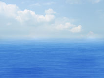 ουρανός θάλασσας σύννεφ&om Στοκ εικόνα με δικαίωμα ελεύθερης χρήσης