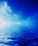 ουρανός θάλασσας Στοκ Φωτογραφίες