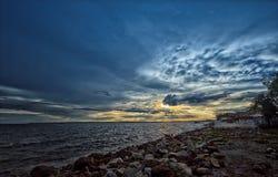 Ουρανός θάλασσας στοκ φωτογραφίες με δικαίωμα ελεύθερης χρήσης