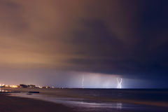 ουρανός θυελλώδης Στοκ Εικόνες