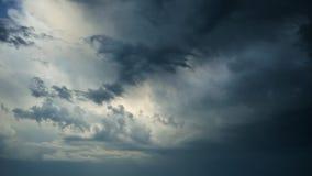 ουρανός θυελλώδης απόθεμα βίντεο