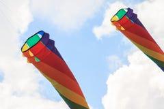 ουρανός ικτίνων ικτίνων φεστιβάλ του Μπέρκλεϋ στοκ φωτογραφία με δικαίωμα ελεύθερης χρήσης