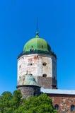 Ουρανός ιπποτών φρουρίων πόλεων Vyborg Στοκ φωτογραφίες με δικαίωμα ελεύθερης χρήσης