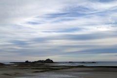 ουρανός κάστρων Στοκ εικόνες με δικαίωμα ελεύθερης χρήσης