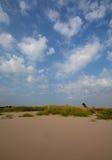 Ουρανός και άμμος Στοκ εικόνα με δικαίωμα ελεύθερης χρήσης