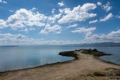 ουρανός και λίμνη Στοκ φωτογραφία με δικαίωμα ελεύθερης χρήσης