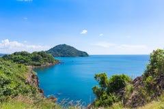 Ουρανός και βουνό θάλασσας στοκ εικόνα με δικαίωμα ελεύθερης χρήσης