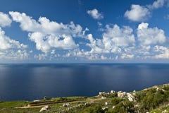 Ουρανός και θάλασσα εδάφους Στοκ φωτογραφία με δικαίωμα ελεύθερης χρήσης