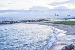 Ουρανός και θάλασσα Στοκ Εικόνες