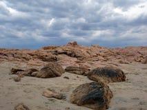 Ουρανός και πέτρες στοκ εικόνα με δικαίωμα ελεύθερης χρήσης
