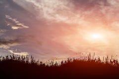 Ουρανός και σύννεφα ηλιοβασιλέματος απεικόνισης Στοκ φωτογραφίες με δικαίωμα ελεύθερης χρήσης