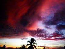 Ουρανός και σύννεφα στην Ταϊλάνδη Στοκ Φωτογραφίες