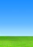 Ουρανός και χλόη Στοκ φωτογραφίες με δικαίωμα ελεύθερης χρήσης