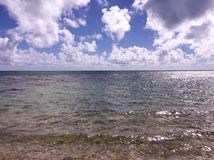 Ουρανός και ωκεανός Στοκ εικόνες με δικαίωμα ελεύθερης χρήσης