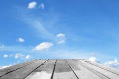 Ουρανός και slats Στοκ εικόνες με δικαίωμα ελεύθερης χρήσης
