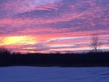 Ουρανός καραμελών βαμβακιού Στοκ Φωτογραφία