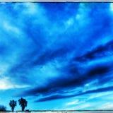 Ουρανός Καλιφόρνιας Στοκ Φωτογραφία