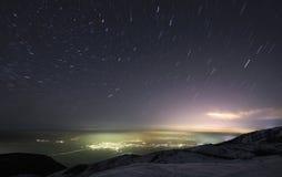 ουρανός κινήσεων Στοκ εικόνα με δικαίωμα ελεύθερης χρήσης