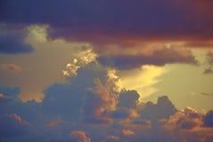 ουρανός κρητιδογραφιών ανασκόπησης στοκ εικόνες με δικαίωμα ελεύθερης χρήσης