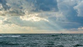 Ουρανός Μαύρης Θάλασσας Στοκ Εικόνα