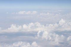 Ουρανός με τα αεροπλάνα Στοκ Εικόνες