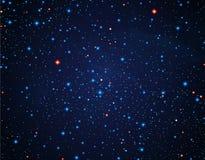 Ουρανός με τα αστέρια Στοκ φωτογραφία με δικαίωμα ελεύθερης χρήσης