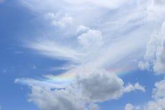 Ουρανός με το ουράνιο τόξο 2 στοκ φωτογραφία με δικαίωμα ελεύθερης χρήσης